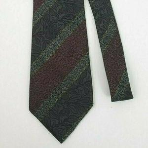 Trussardi Action Mens Dress Suit Necktie 100% Silk
